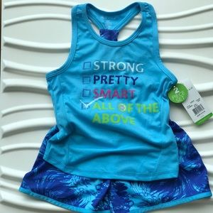 ... Girls Gaiam 2piece BacktoSchool Activewear outfit ... 5aa234e43